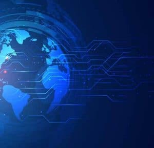 Outsourced network of 3PL for all other continents