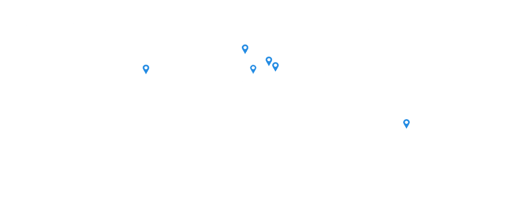 world-map-euromed-pharma-us locations